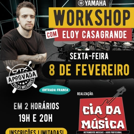 Workshop com Eloy Casagrande